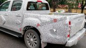 2019 Isuzu D Max V Cross Facelift Spy Shot India