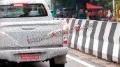 2019 Isuzu D Max V Cross Facelift Tailgate Spy Sho