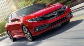 India Bound 2019 Honda Civic Images Front Three Qu
