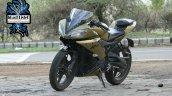 Yamaha Yzf R15 Matt Gold Blacklisted Nagpur Left F