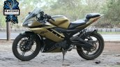 Yamaha Yzf R15 Matt Gold Blacklisted Nagpur Left S