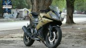 Yamaha Yzf R15 Matt Gold Blacklisted Nagpur Right