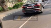 2018 Audi A6 India Images Rear Action Shot