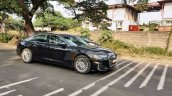 2018 Audi A6 India Spy Images Side Profile 1