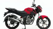 Bajaj Discover 125 St R Red Side Profile