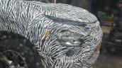 Tata Harrier Spy Image Headlamp Arrangement
