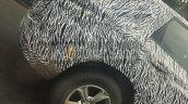 Tata Harrier Spy Image Rear Alloy Wheel Led Tailla