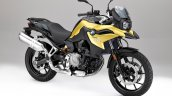 Bmw F 750 Gs Yellow Official Photograph Front Righ