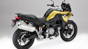 Bmw F 750 Gs Yellow Official Photograph Rear Right