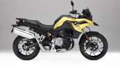 Bmw F 750 Gs Yellow Official Photograph Right Side