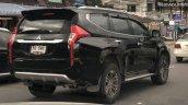 2019 Mitsubishi Pajero Sport Facelift Rear Three Q