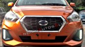 2018 Datsun Go Facelift Front Spy Shot Indiia