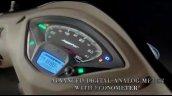 New Tvs Jupiter Grande Instrument Console