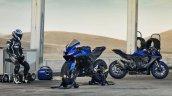2019 Yamaha Yzf R125 Outdoor Shots Blue 4