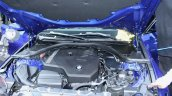 2019 Bmw 3 Series Blue Engine Bay At 2018 Paris Mo