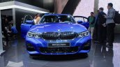 2019 Bmw 3 Series Blue Front At 2018 Paris Motor S