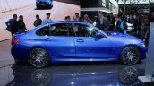 2019 Bmw 3 Series Blue Profile At 2018 Paris Motor