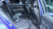 2019 Bmw 3 Series Blue Rear Seats At 2018 Paris Mo