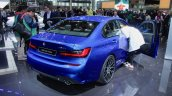2019 Bmw 3 Series Blue Rear Three Quarters At 2018