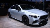 2019 Mercedes Benz A Class Sedan At Paris Motor Sh