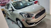Ford Aspire Facelift Front Three Quarters White Go