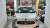 Ford Aspire Facelift Front White Gold