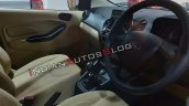 Ford Aspire Facelift Interior Steering Wheel