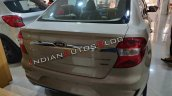 Ford Aspire Facelift Rear White Gold
