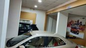 Ford Aspire Facelift Side View Roof White Gold