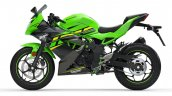 Kawasaki Ninja 125 Press Images Left Side