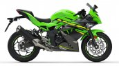 Kawasaki Ninja 125 Press Images Right Side
