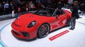 Porsche 911 Speedster Concept Ii Images Front Thre