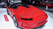 Porsche 911 Speedster Concept Ii Images Rear Three