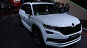 Skoda Kodiaq Rs At Paris Motor Show Front Right Qu