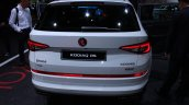 Skoda Kodiaq Rs At Paris Motor Show Rear Profile