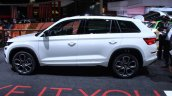 Skoda Kodiaq Rs At Paris Motor Show Side Profile