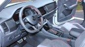 Skoda Kodiaq Rs At Paris Motor Show Steering Wheel