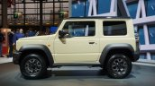 Suzuki Jimny Sierra At Paris Motor Show 2018 White