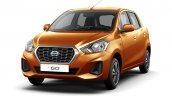2018 Datsun Go Facelift Front Three Quarters Offic