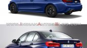 2019 Bmw 3 Series Vs 2016 Bmw 3 Series Rear Three
