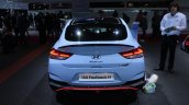 Hyundai I30 Fastback N Blue At Paris Motor Show 20