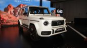 2018 Mercedes G63 Amg Front Three Quarters Image 4