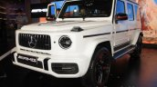 2018 Mercedes G63 Amg Front Three Quarters Image 5