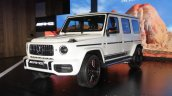 2018 Mercedes G63 Amg Front Three Quarters Image