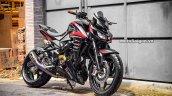 Bajaj Pulsar Ns 200 To Kawasaki Z1000 Right Front