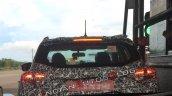 Production Mahindra S201 Rear Spy Shot