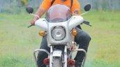 Silver Yamaha Rd350 By Vishal Agarwal Front 1