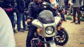 Silver Yamaha Rd350 By Vishal Agarwal Front 2