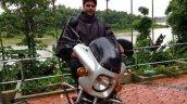 Silver Yamaha Rd350 By Vishal Agarwal Front 3