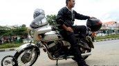 Silver Yamaha Rd350 By Vishal Agarwal Left Side 1